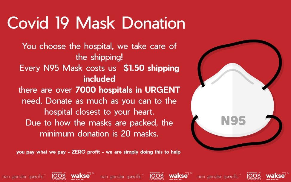 COVID-19 Mask Donation