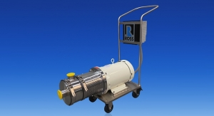ROSS Offers Mobile Inline Rotor/Stator Homogenizers for Efficient High Shear Mixing