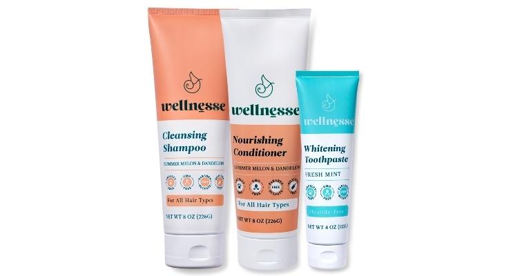 Wellnesse Debuts Shampoo & Conditioner