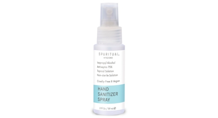 Sparitual Launches Sanitizer Spray