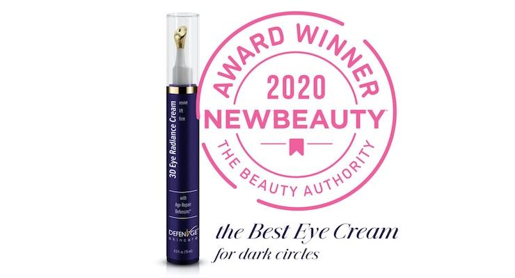 DefenAge Skincare Wins NewBeauty Awards