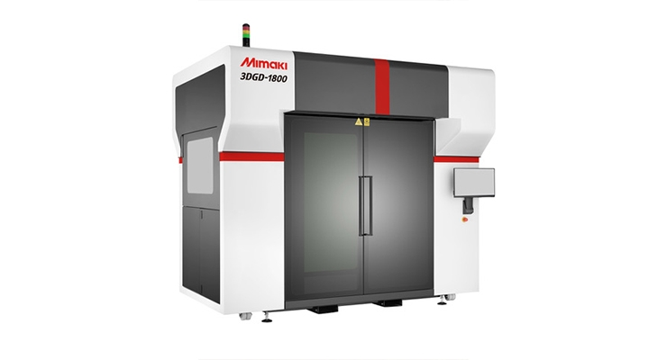 Mimaki USA Expands 3D Printer Offerings with 3DGD-1800 Model