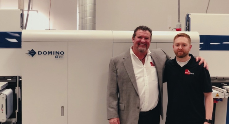 Abbott Label installs Domino N610i press