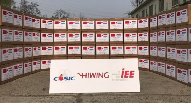 IEE S.A. Donates Masks to Luxembourg Healthcare Workers