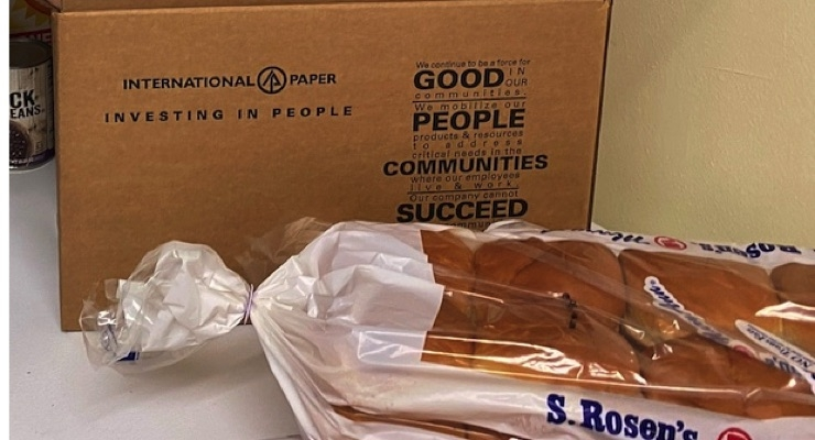 International Paper Donates Nearly 2,000 Boxes for Meal Distributions to GA Food Bank