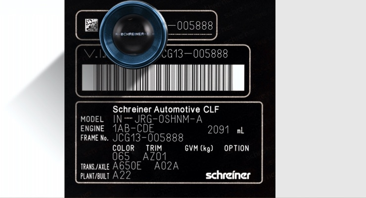 Schreiner ProTech releases anti-counterfeiting film