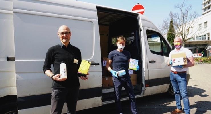 Marabu Donates Disinfectant Made In-house to Regional Hospitals