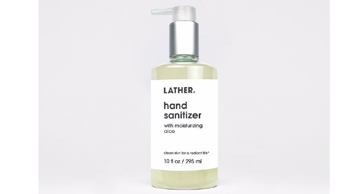 Lather Debuts Hand Sanitizer Gel