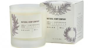 Natural Hemp Company Adds CBD Candle