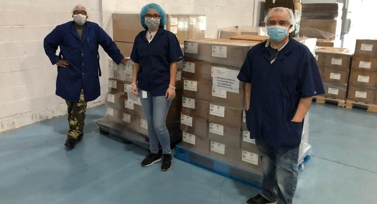 Qosina Donates Personal Protection Equipment