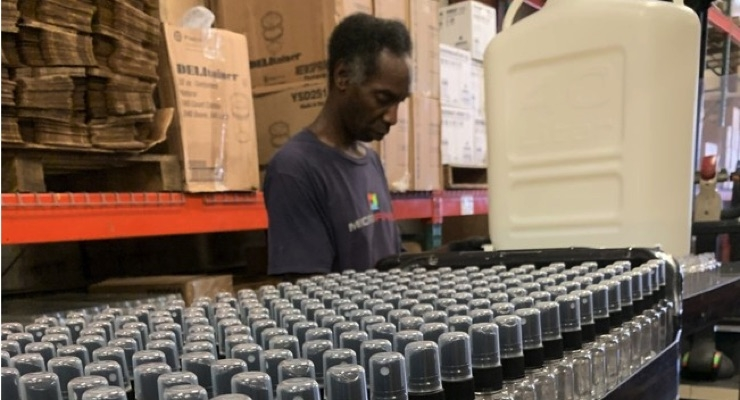 New Orleans-based Automotive Paint Manufacturer Produces Hand Sanitizer