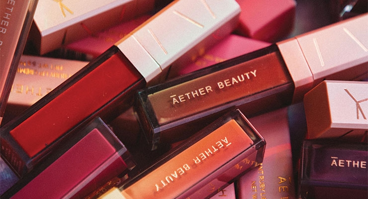 Aether Beauty Offers 'First Fully Recycled Lip Component'