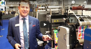 Gallus Labelfire at Labelexpo Europe 2019