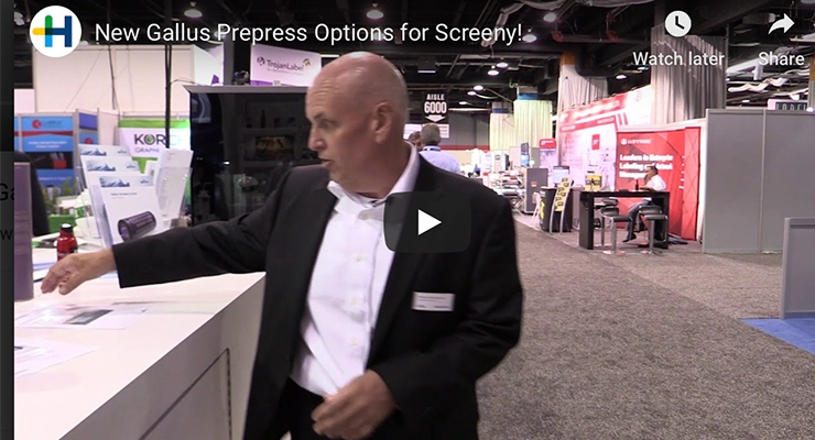 New Gallus Prepress Options for Screeny!