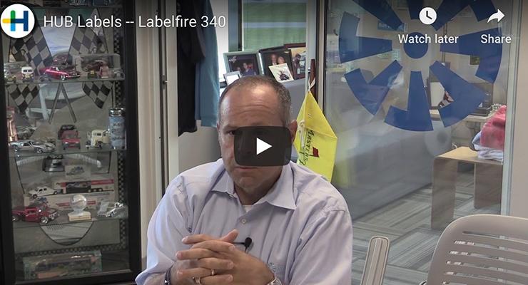 HUB Labels -- Labelfire 340