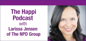 The Happi Podcast: Larissa Jensen of The NPD Group