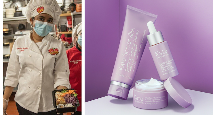 Kate Somerville Launches DeliKate & Supports Covid-19 Relief Efforts