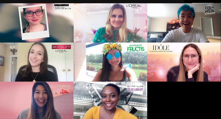 L'Oréal Launches Snapchat Lenses
