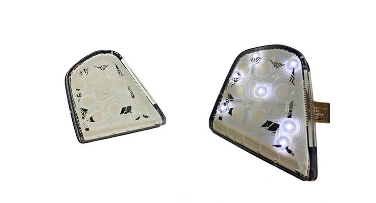 Alps Alpine, TactoTek Deliver In-Mold Electronics HMI Solution for German Automotive OEM