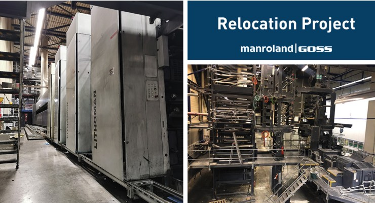 manroland Goss Subsidiary Relocates LITHOMAN Press in the Netherlands