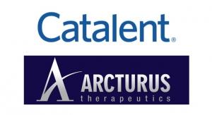 Arcturus, Catalent Partner to Manufacture COVID-19 Vaccine