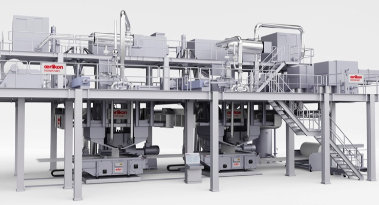 Oerlikon Expands its Laboratory Nonwovens Capacity