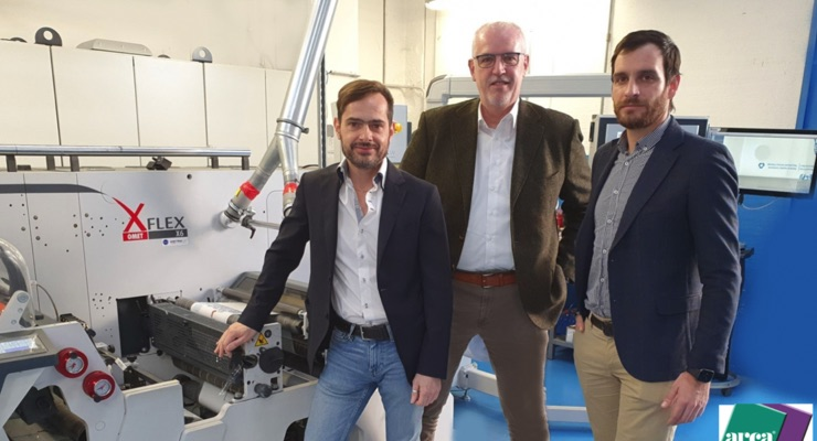 Omet supports shrink sleeve production