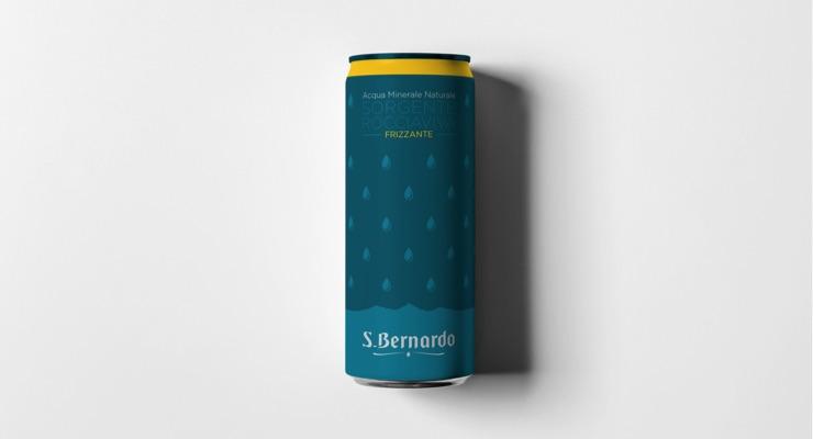 Acqua S. Bernardo Diversifies Portfolio with Metal Packaging from Crown