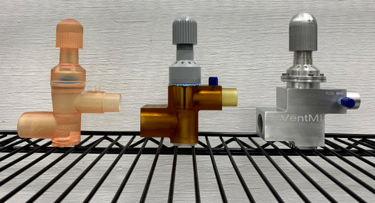 Autocam Medical, University Manufacture Ventilator Splitter With Individual Pressure Capability