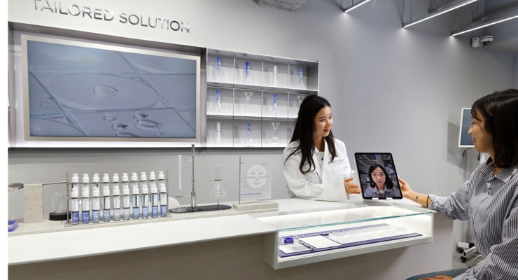 Amorepacific Launches 3D Mask Service