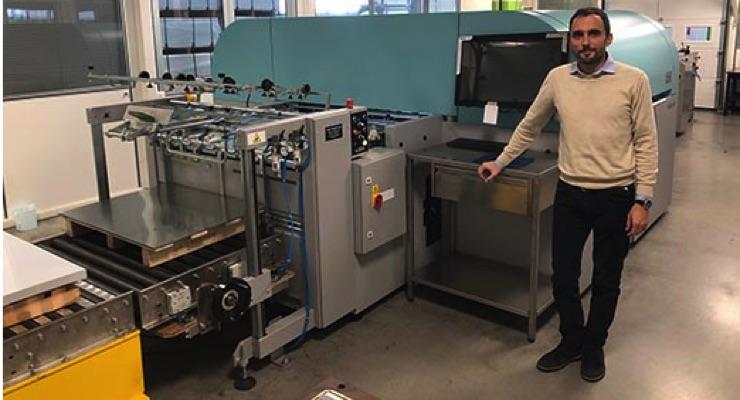 Italian Metal Decoration Printer Adds Fujifilm Acuity B1