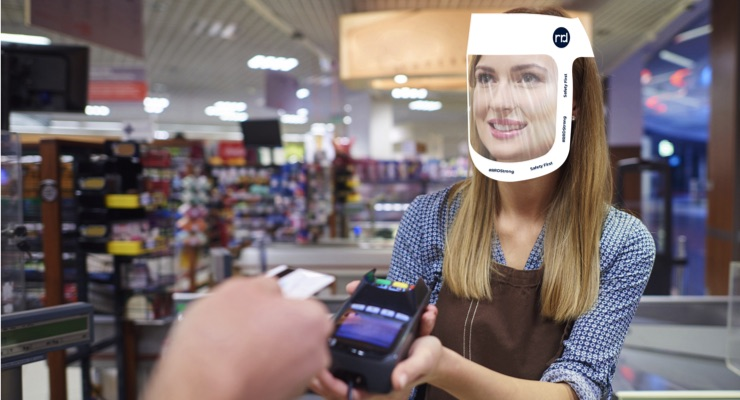 RRD Produces Face Shields to Protect Customers, Communities