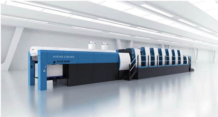Oliver Inc. Adds 9th Koenig & Bauer Press