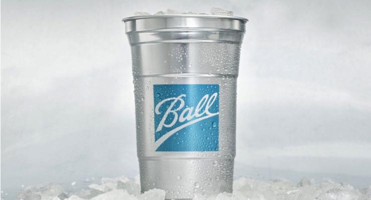 Ball, Blue Ocean Partner for Retail Launch of Ball Aluminum Cup