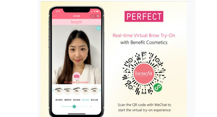 Benefit Launches Real-Time Eyebrow Virtual Try-On for WeChat
