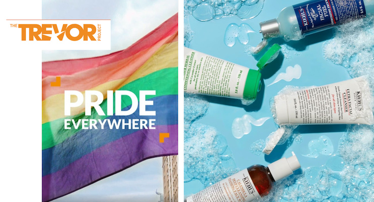 Kiehl's Celebrates Pride Month by Supporting The Trevor Project's LGBTQ Campaigns