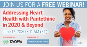 Addressing Heart Health with Pantethine in 2020 & Beyond
