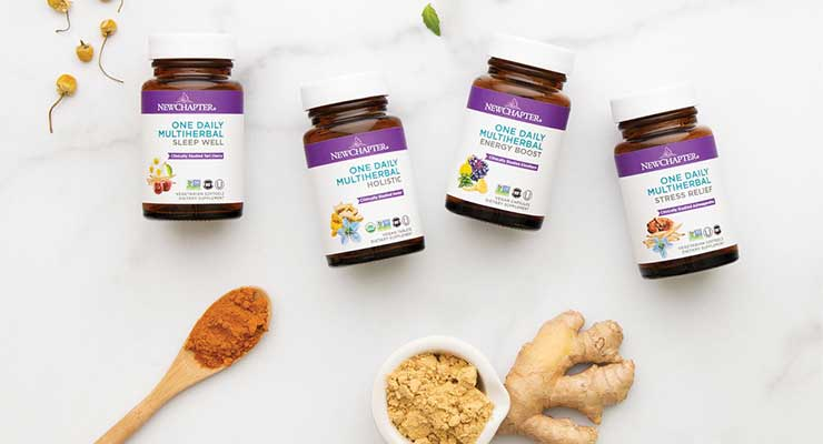 New Chapter Debuts Line of Once-Daily Botanical Blends