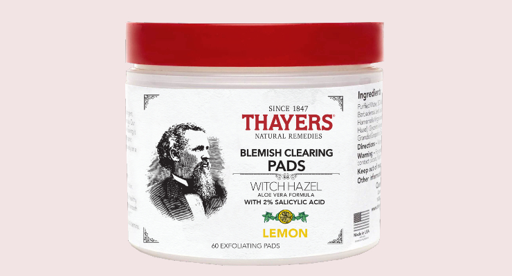 Thayers Tackles Blemishes
