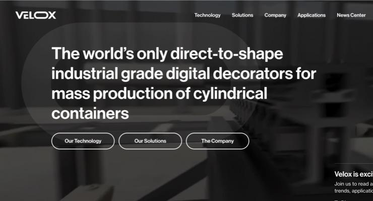 Velox Unveils New Website