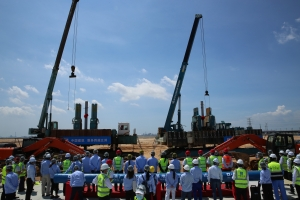 BASF Starts Piling of the First Plants of its Smart Verbund Project in Zhanjiang, Guangdong