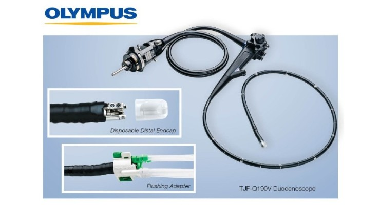Olympus Launches TJF-Q190V Duodenoscope in the U.S.