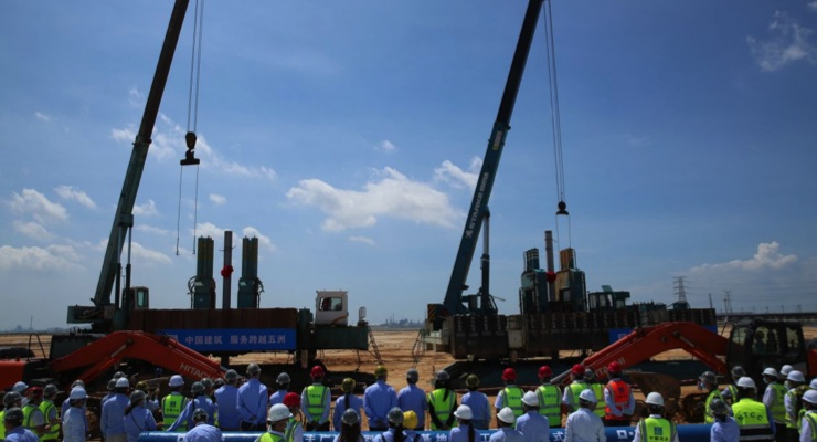 BASF Starts Piling of First Plants of Smart Verbund Project in Zhanjiang, Guangdong