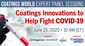 Coatings World Expert Panel Sessions: Coatings Innovations to Help Fight COVID-19