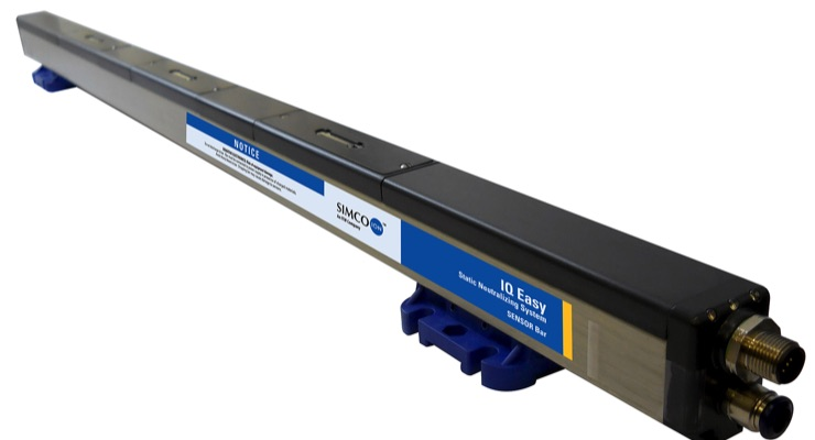 Simco-Ion updates IQ Easy Sensor Bar to include charge monitoring