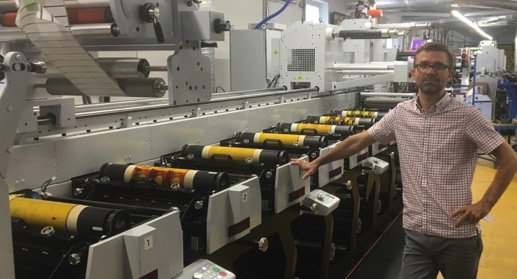 Third Mark Andy press installed at Polish label manufacturer