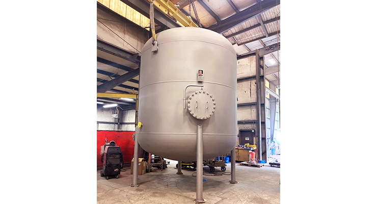 Ross Offers 6,500-gallon Pre-filter Vessel
