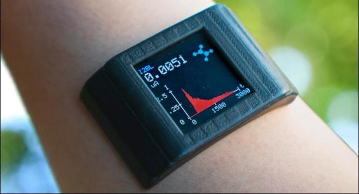Adhesive Film Transforms Smartwatch into Sweat Sensor