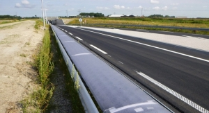 Solar Cells on Guardrail: World