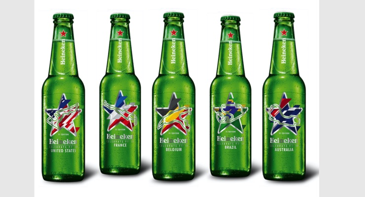 MCC supports Heineken with customized labels